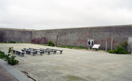 Maximum Security Prison, Robben island, South African Republic Royalty Free Stock Photo