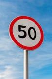 Maximum snelheid stock fotografie