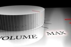 Maximum volume Royalty-vrije Stock Afbeelding