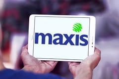 Maxis komunikacj logo Zdjęcie Stock