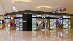 Maxmara boutique, hong kong Stock Photos