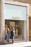 MaxMara modelager Arkivbilder