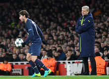 Maxwell and Arsene Wenger Stock Images
