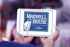 Maxwell House kaffelogo Royaltyfri Fotografi