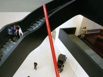 MAXXI-Museum, Rom, Italien Lizenzfreie Stockfotos
