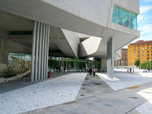 MAXXI Museum, Rome, Italy Royalty Free Stock Images