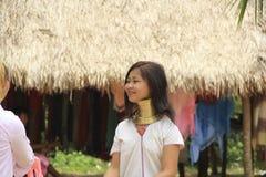 Free May 11, 2011, Pattaya, Thailand Padaung Travel Thnic Women Stock Images - 124454364