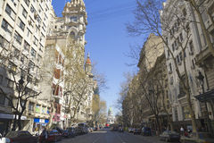May Avenue in Buenos Aires. Stock Images