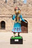 19 may 2017 Baku, Azerbaijan. Talisman IV Islamic solidarity games - Karabakh racehorses the Inje and Dzhasur. NMascots, Islamic solidarity games in Baku Park Royalty Free Stock Photography