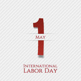 May 1 Banner. International Labor Day Stock Photo