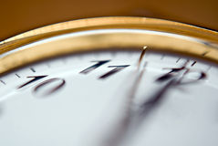 May be too late. Quadrant of a clock to show the last seconds Royalty Free Stock Images