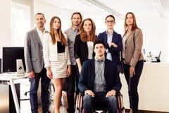 Mały Biznes drużyna W Ich biurze Obraz Stock