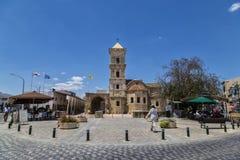 Cyprus, Larnaca, Orthodox Church of Saint  Lazarus. May 19, 2016. Cyprus, Larnaca, Orthodox Church of Saint  Lazarus, the patron saint of Larnaca. Destination of Stock Photo