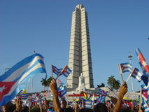 May Day Cuba Royalty Free Stock Images