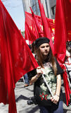 May Day in Istanbul Royalty Free Stock Images