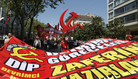 May Day in Istanbul Royalty Free Stock Photo