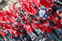 May Day in Turkey Royalty Free Stock Photo