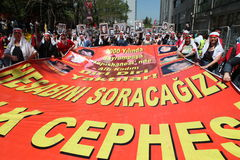 May Day in Turkey Stock Photos
