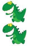 mały Dino uśmiech Zdjęcie Stock