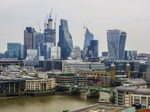 May 20, 2018, England. A panorama of London from the height of the observation deck of the Museum of Modern Art stock images