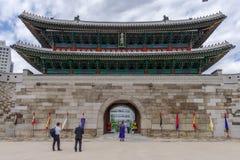 May 26,2016 at front of Namdaemun gateSungnyemun Gate, Seoul, Royalty Free Stock Photo
