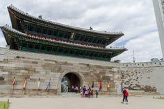 May 26,2016 at front of Namdaemun gateSungnyemun Gate, Seoul, Royalty Free Stock Photography