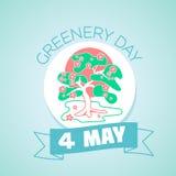4 may greenery day Royalty Free Stock Image