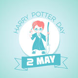 2 may Harry Potter Day Royalty Free Stock Photo