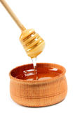 May honey on white Royalty Free Stock Photo