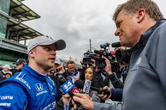 IndyCar: May 10 IndyCar Grand Prix of Indianpolis stock photo