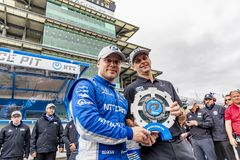 IndyCar: May 10 IndyCar Grand Prix of Indianpolis royalty free stock images