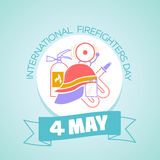 4 may International Firefighters Day Stock Photo