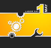 1 May international labor day background Royalty Free Stock Photography