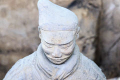 May-07-2017 : L'armée, les guerriers et les chevaux de terre cuite Xian Chine Photos libres de droits