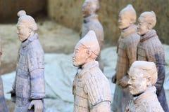 May-07-2017: L'esercito, i guerrieri ed i cavalli di terracotta Xian Cina Immagini Stock Libere da Diritti