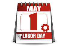 May 1. Labor Day . Workers Day. May 1. Calendar. Labor Day. International Workers Day. Vector illustration isolated on white background Royalty Free Stock Images