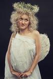 Mały śliczny anioł Obraz Royalty Free