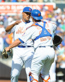 May 25, 2015, Mets beat Phillies. Royalty Free Stock Photos