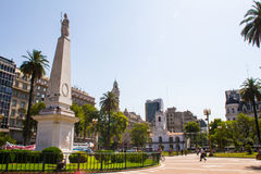 May Obciosywać Buenos Aires fotografia royalty free