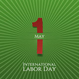 May 1 Paper Label. Labor Day Royalty Free Stock Image