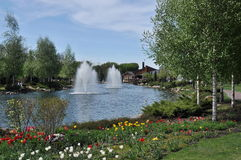May Park Royalty Free Stock Image