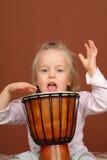 mały perkusista Zdjęcie Stock