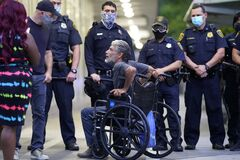 May 29 Protestors Riot In Houston Texas