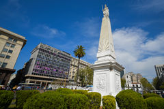 May Pyramid at the Plaza de Mayo Square Royalty Free Stock Image