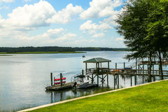 May River Dock Royalty Free Stock Image
