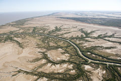 The May river. Near the town of Derby, Western Australia Royalty Free Stock Photography