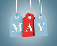 May Sales Stock Photo