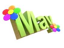 May sign Stock Image