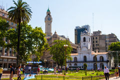 May Square Buenos Aires Stock Photo