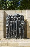 A stone sculpture depicting child victims of the Holocaust at the Yad Vashem Holocaust Museum and Memorial in Jerusalem Israel. 9 May 2018 A stone sculpture Royalty Free Stock Photography